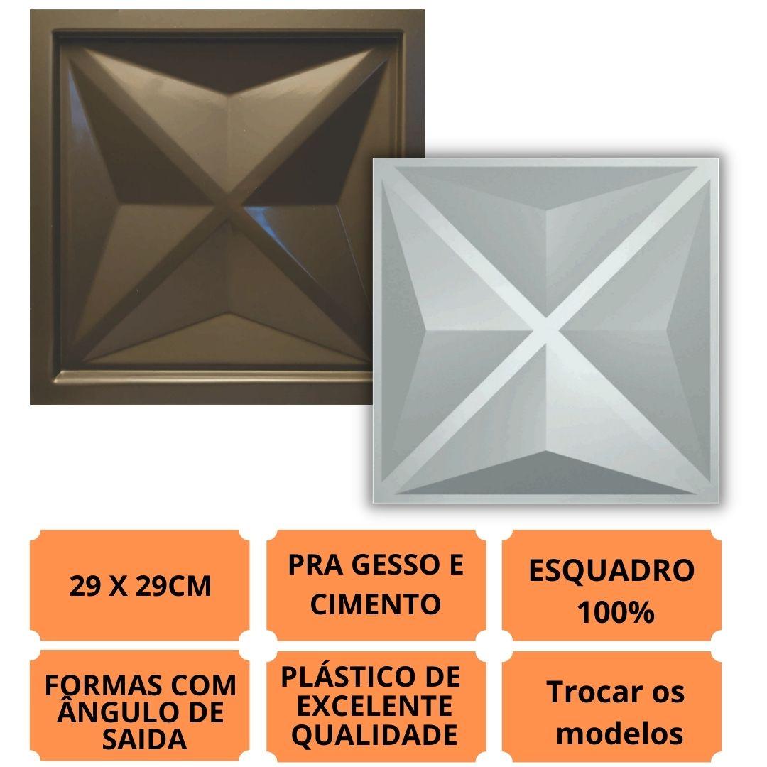 Forma Pra Gesso 3d E Cimento Pol0017