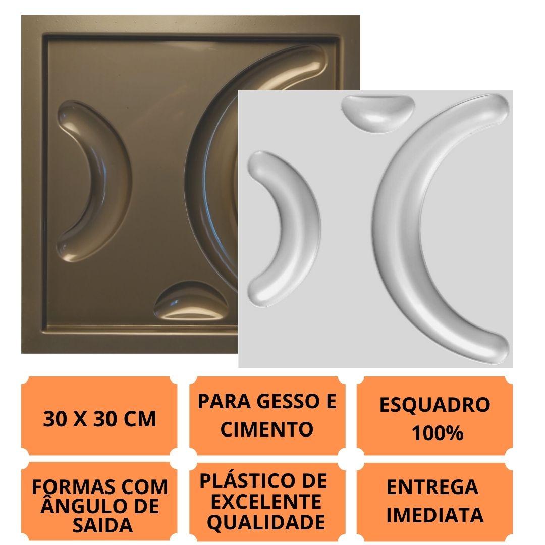 Forma Pra Gesso 3d E Cimento Pol0036