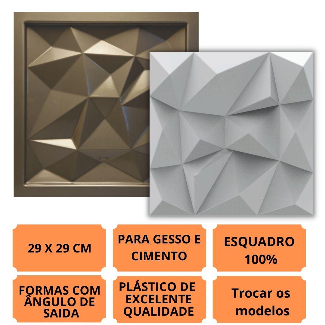 Forma Pra Gesso 3d E Cimento Pol0090