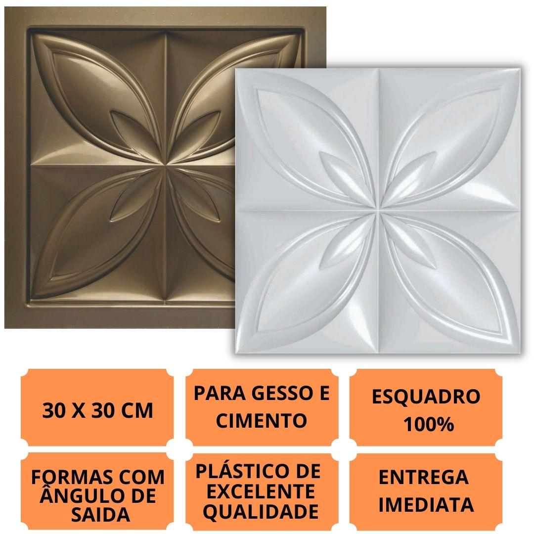 Forma Pra Gesso 3d E Cimento Pol0218