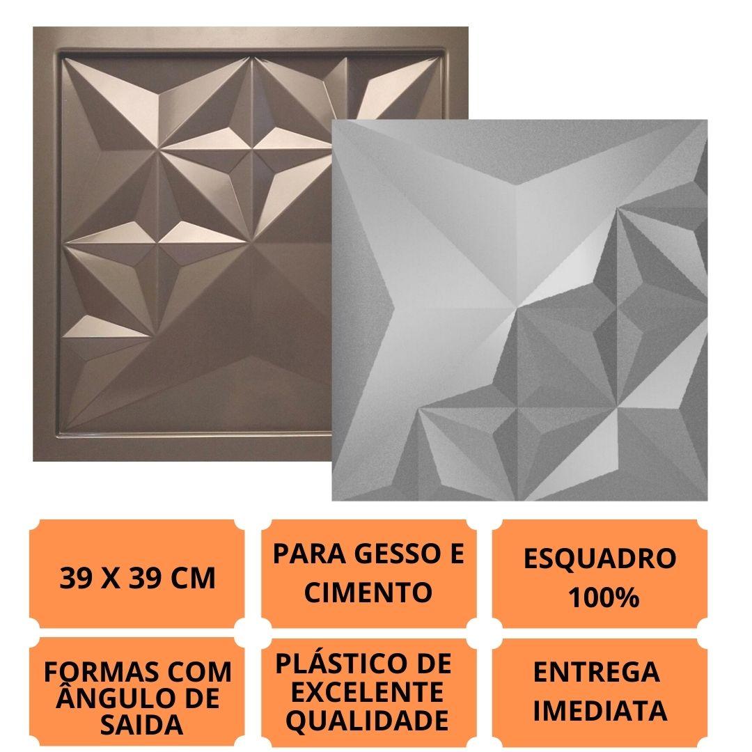 Formas Pra Gesso 3d E Cimento Pol0067