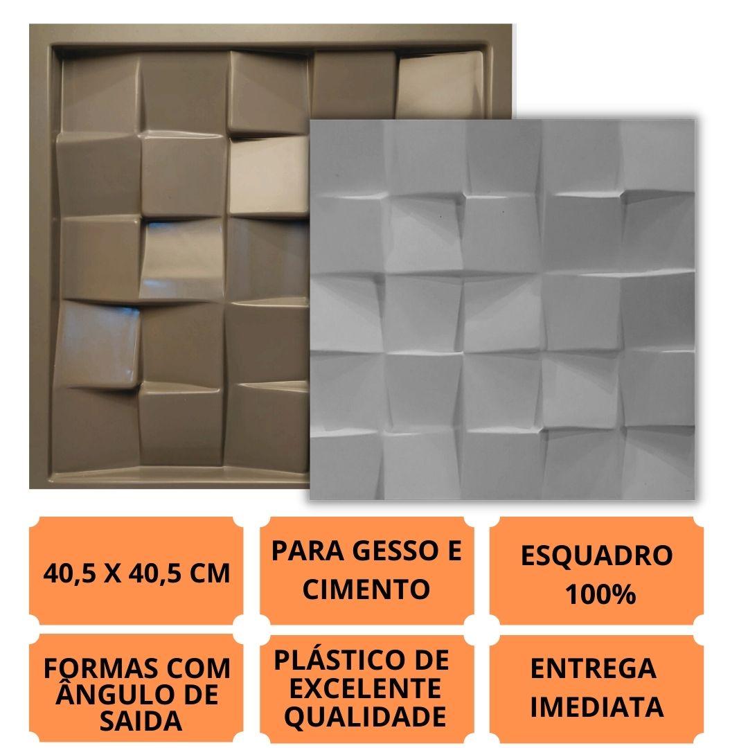 Formas Pra Gesso 3d E Cimento Pol0105