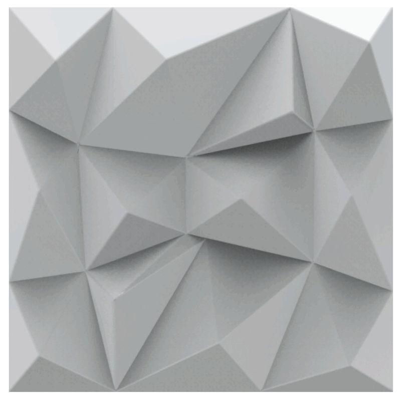 KIT 3 Formas De Gesso 3D em PET - PET0090 - 1.8MM