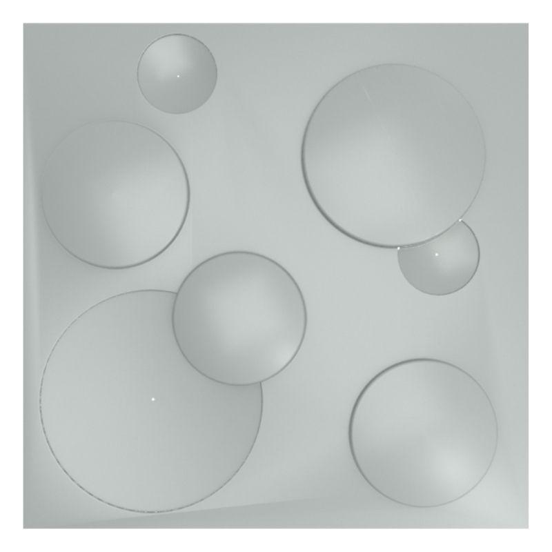 KIT 5 Formas De Gesso 3D em PET - PET0039- 1.8MM