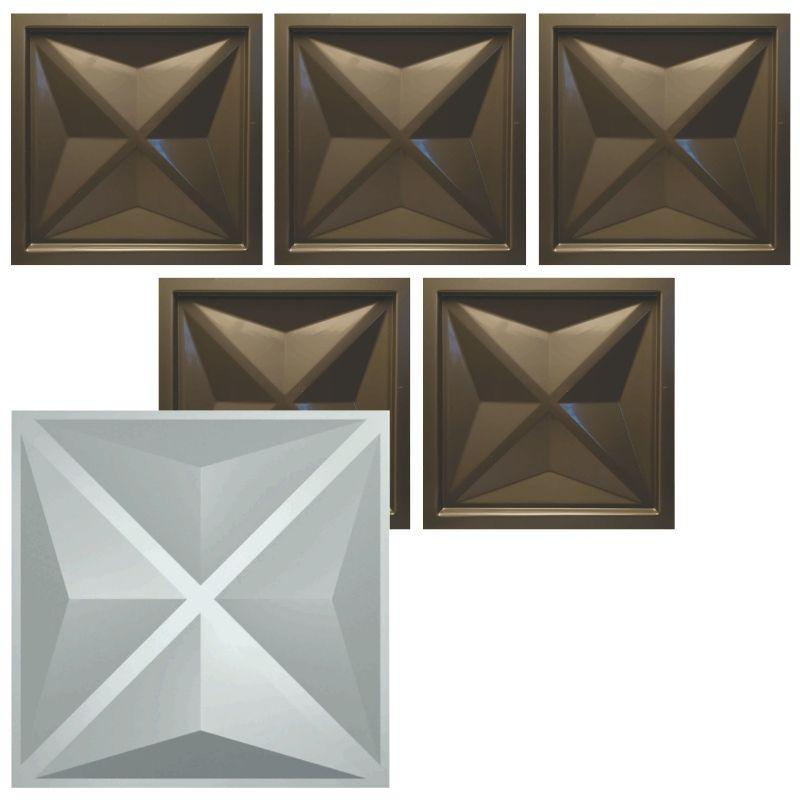 KIT 5 Formas De Gesso 3D em PET - PET0017 - 1.8MM