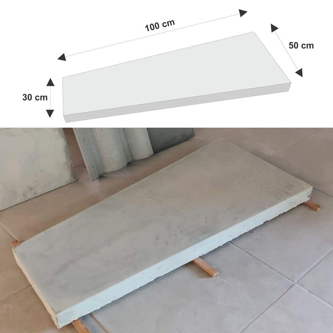 Pisante em PET - PI0001 100x30x50cm  alt.5cm