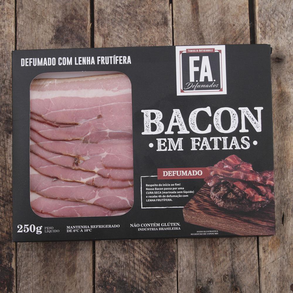 Bacon Artesanal F.A. Fatiado / 250g