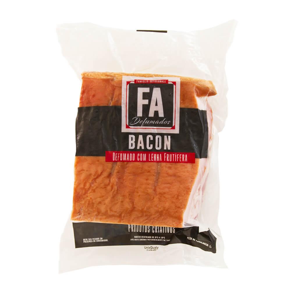 Bacon Artesanal F.A. em peça | A partir de 250g