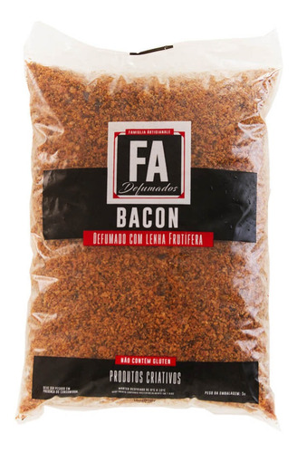 Bacon Granulado 500g  - FADEFUMADOS