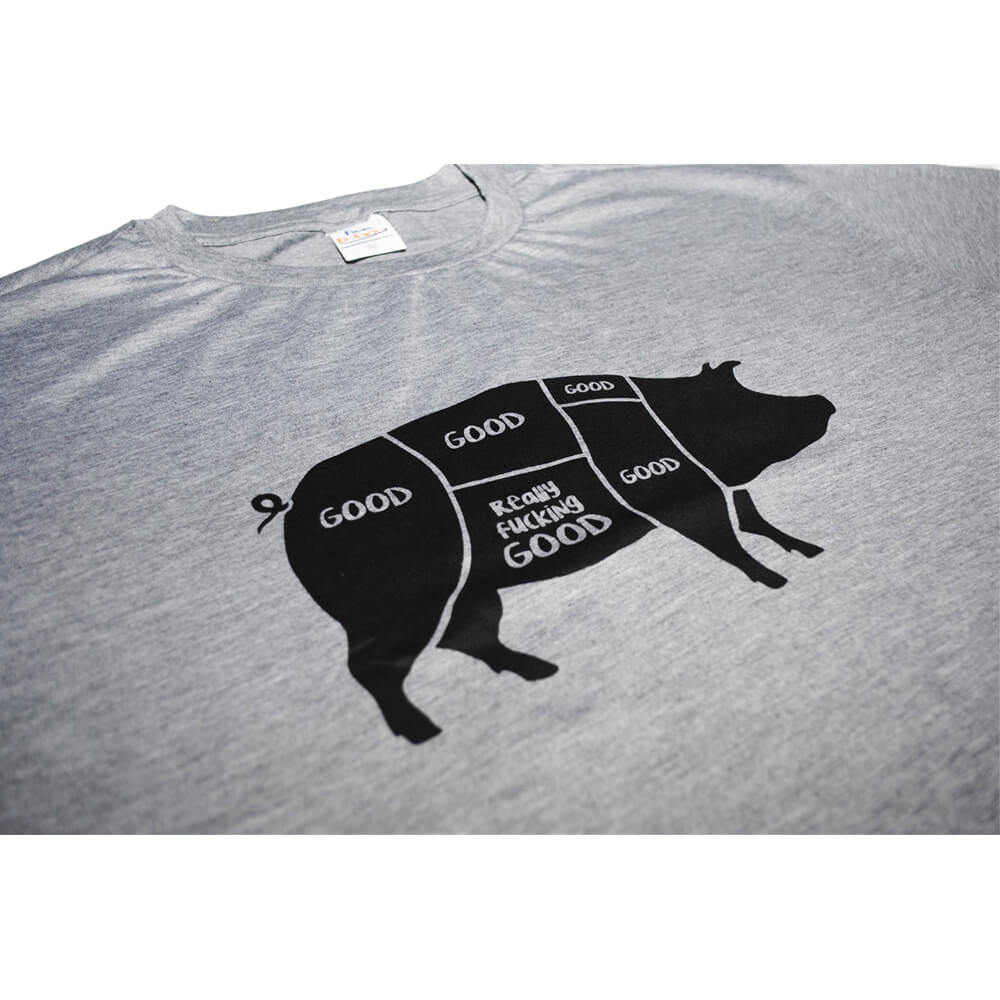 Camiseta Mescla Good Bacon F.A.  - FADEFUMADOS