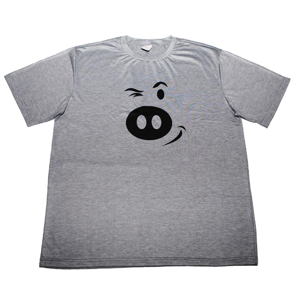 Camiseta Mescla Porco F.A.
