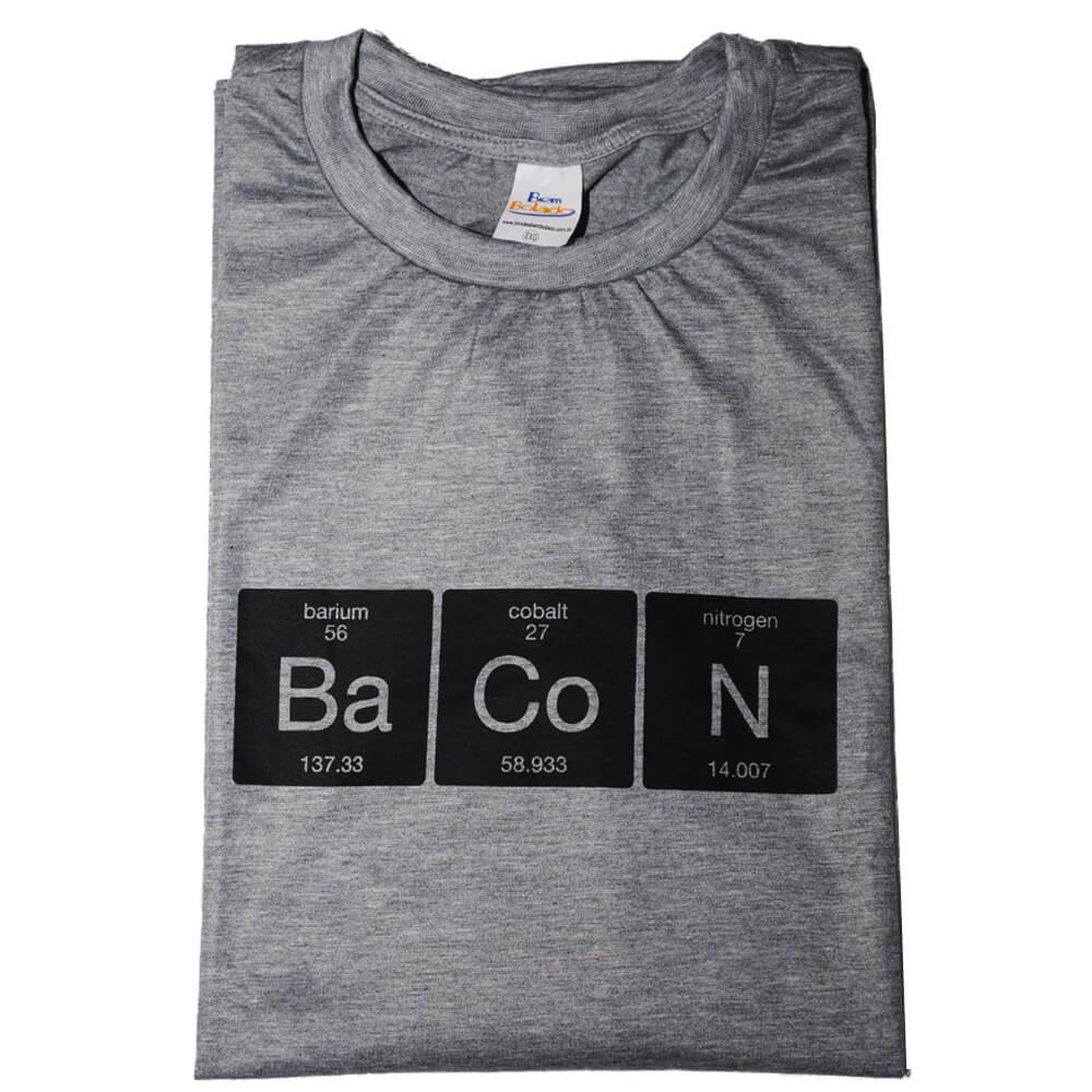 Camiseta Mescla Química do Bacon F.A.  - FADEFUMADOS