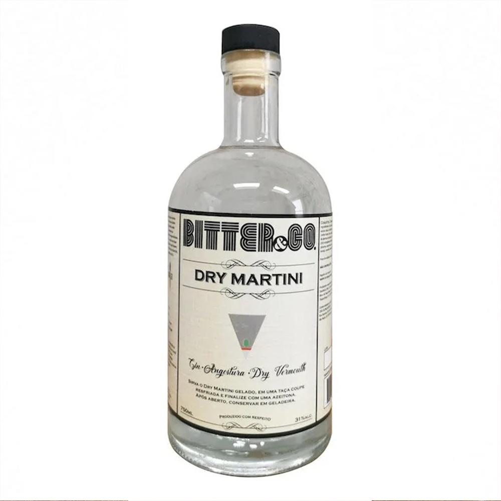 Garrafa Dry Martini BItter&Co - 375ml