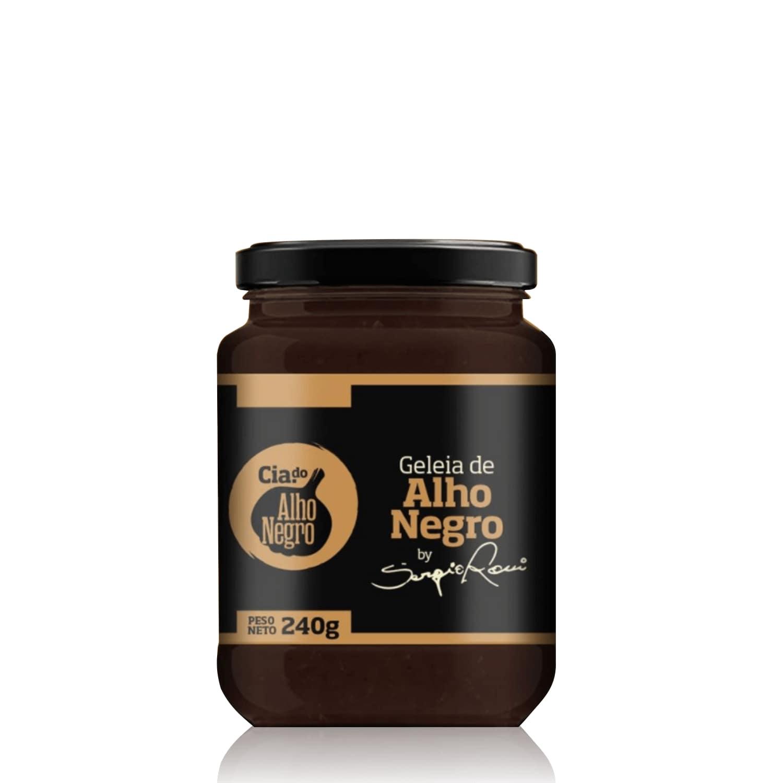 Geléia de Alho Negro 240g  - Cia das Pimentas