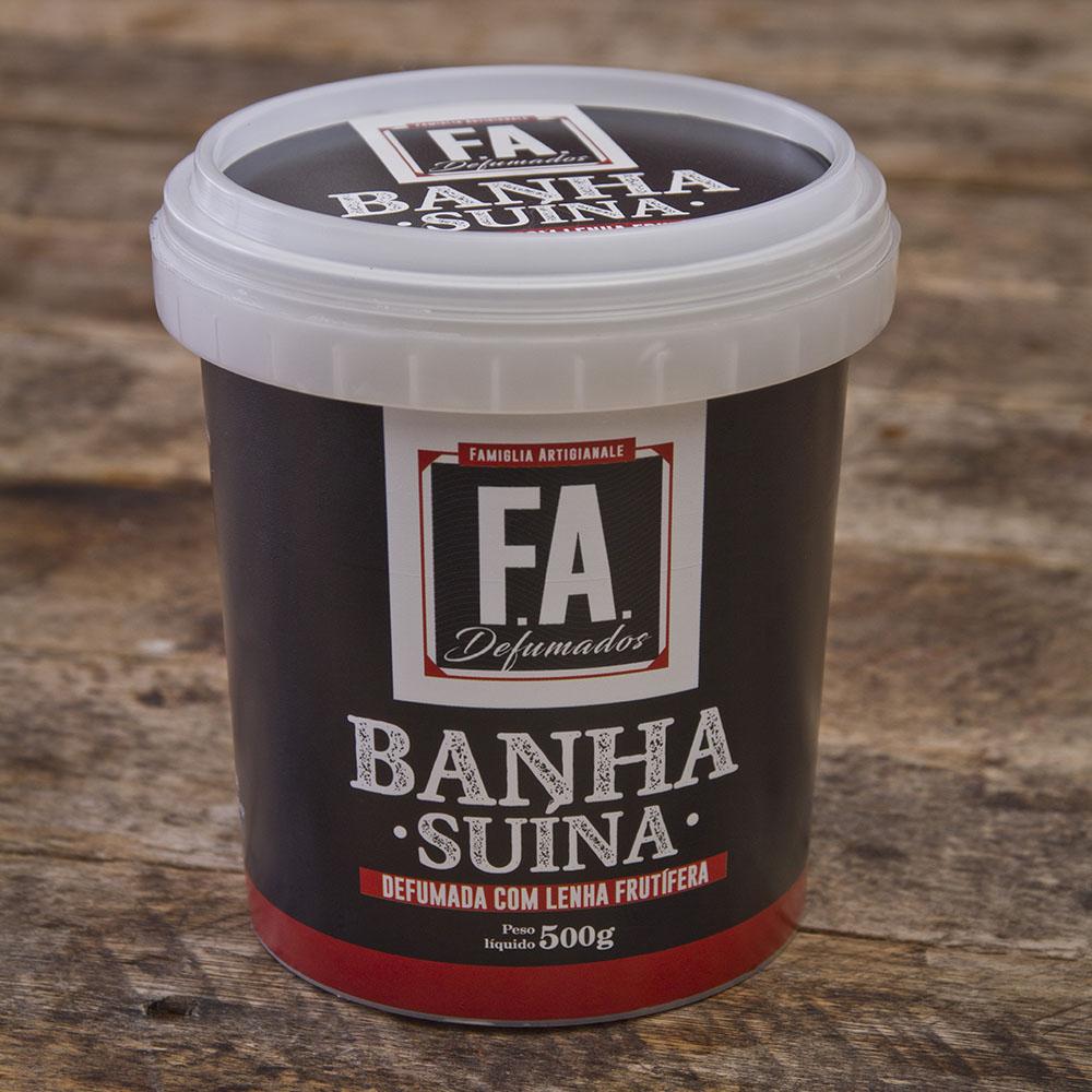 FAÇA EM CASA - Kit Farofa Santa Rita ALHO com Bacon F.A  - FADEFUMADOS
