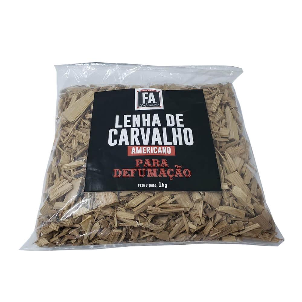 Lenha de Carvalho Americano para Defumação F.A.