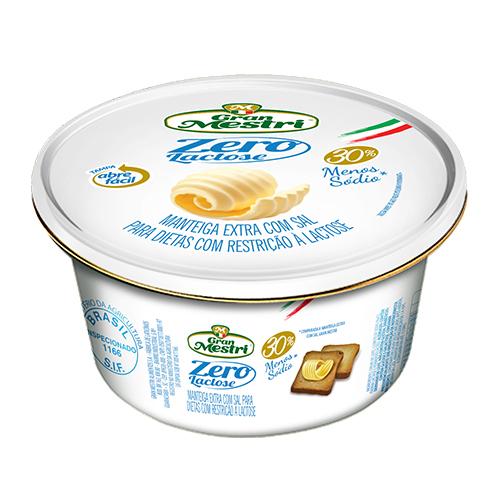 Manteiga Lata ZERO LACTOSE Gran Mestri 200grs