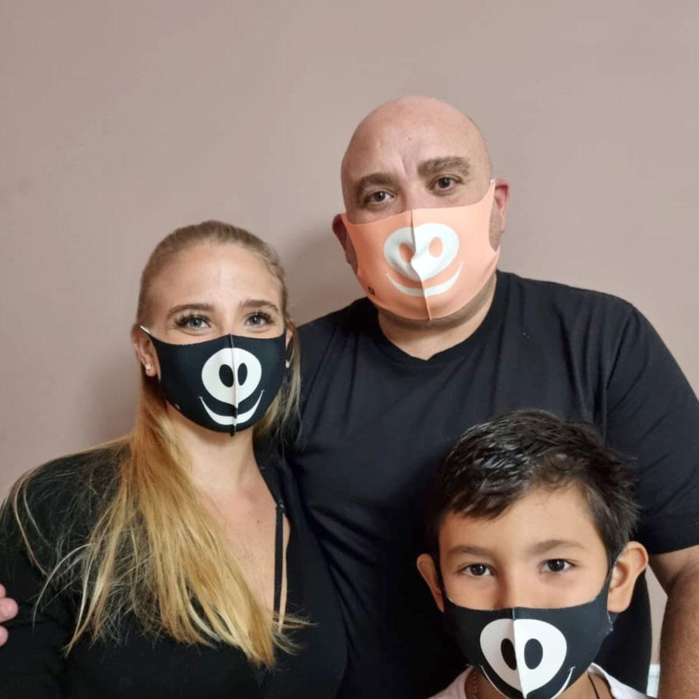 Máscara Porquinho F.A.