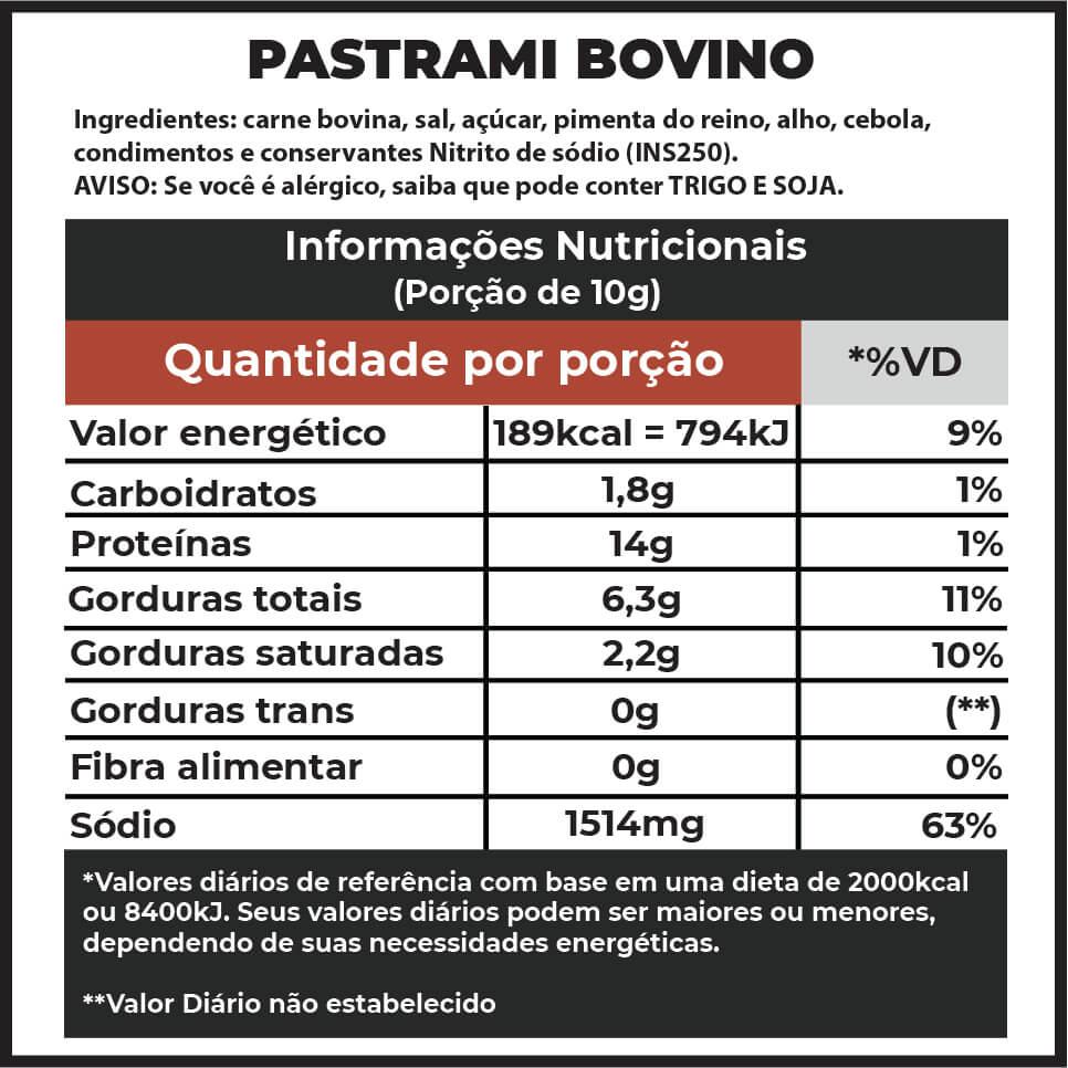 Pastrami F.A. / 250g  - FADEFUMADOS