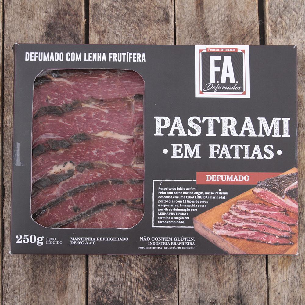 Pastrami F.A. em Fatias / 250g
