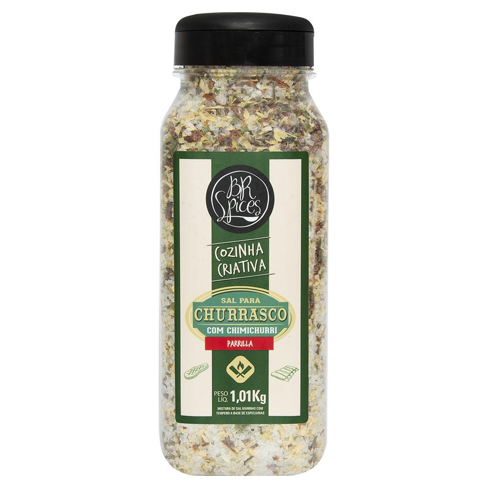 Sal de Parrilla para Churrasco com Chimichurri 1Kg - Br Spices