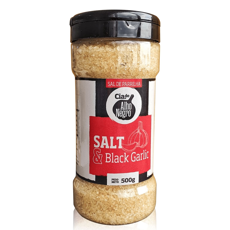 Salt & Black Garlic 500g - Cia das Pimentas