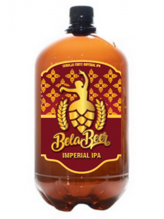 BELA IMPERIAL IPA PET GROWLER 1 LITRO