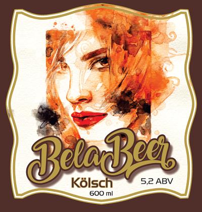 BELA BEER - KOLSCH - R - 600ML