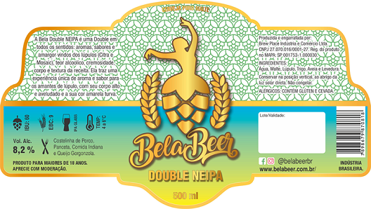 BELA DOUBLE NEIPA - R - 500ML