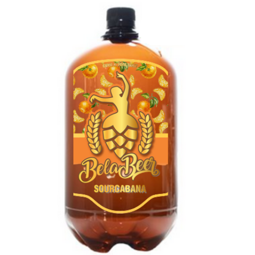 BELA SOURCABANA TANGERINA PET GROWLER 1 LITRO