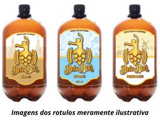 Kit Pet Growler de Cervejas com Trigo