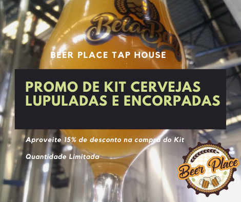 Kit Pet Growler de Cervejas Lupuladas