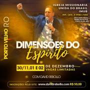 Escola Dimensões do Espírito em Porto Velho - ESGOTADO - Vendas disponíveis apenas no local