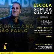 Escola Som da Sua Voz em Sorocaba - ESGOTADO!
