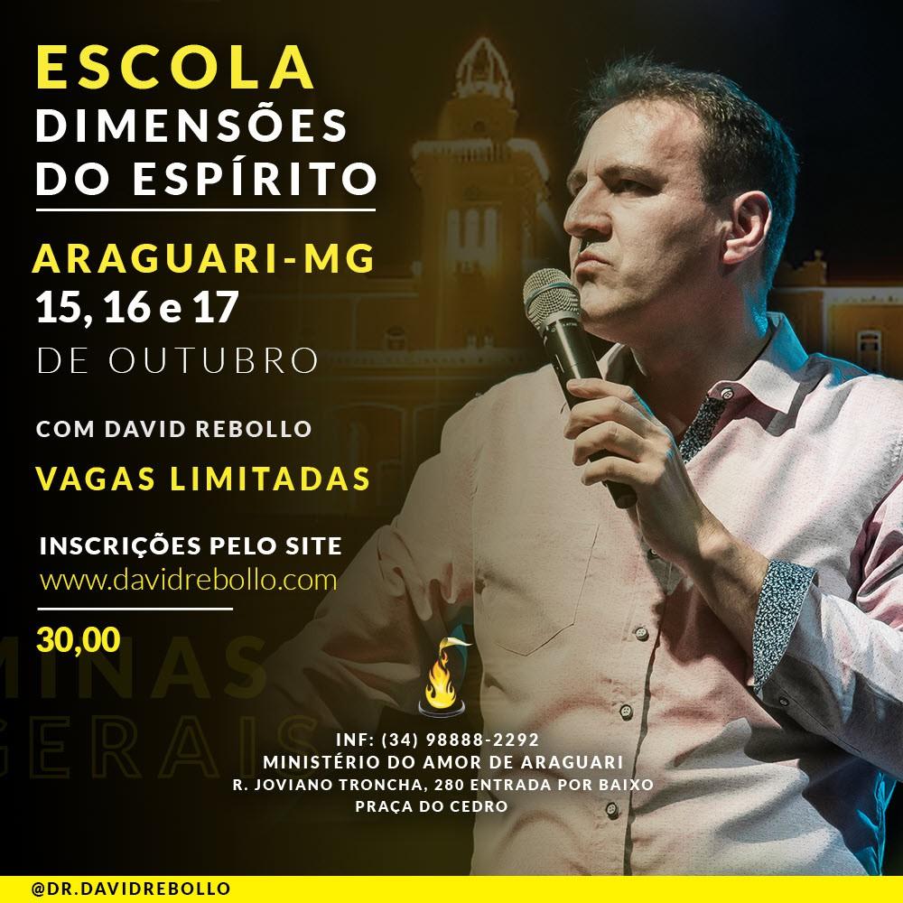 Escola Dimensões do Espírito Araguari - ESGOTADO