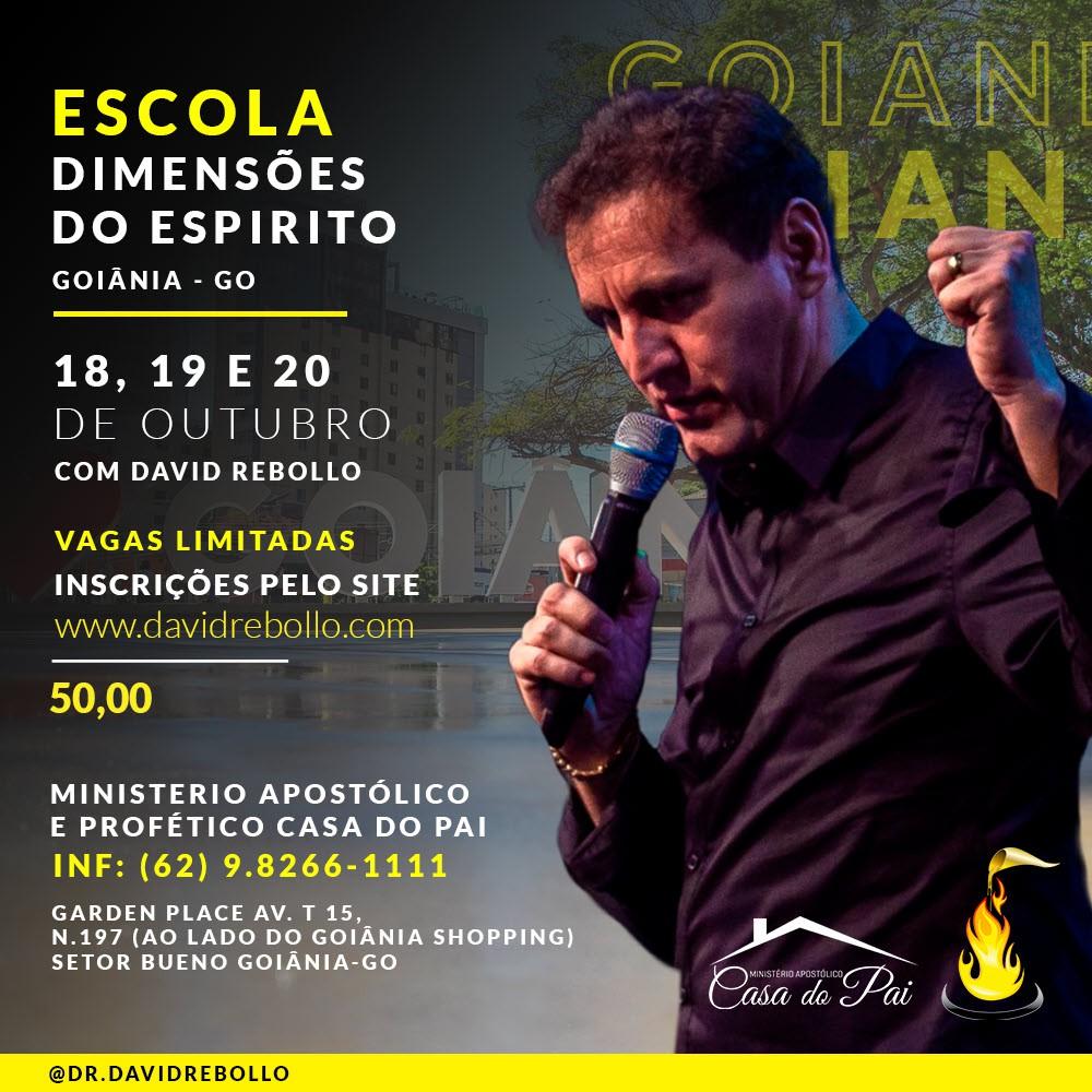 Escola Dimensões do Espírito Goiania - ESGOTADO