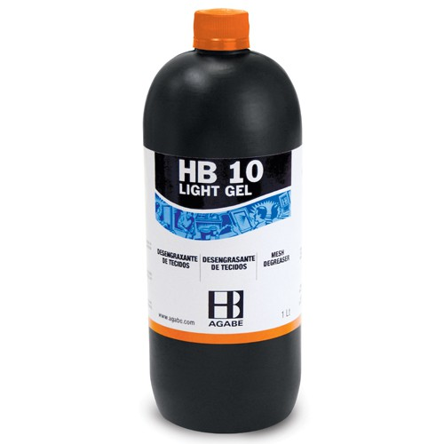 DESENGRAXANTE HB-10 LIGHT GEL  - AUGE SILK & SIGN