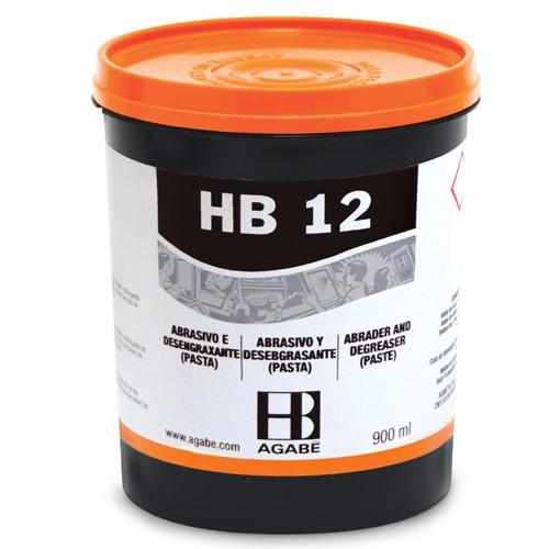 PASTA ABRASIVO HB-12 900 ml  - AUGE SILK & SIGN
