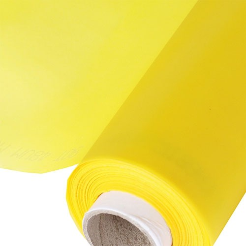 POLIESTER HITEX 77-48 AMARELO c/ 43 Cm Larg - ROLO 10MTS  - AUGE SILK & SIGN