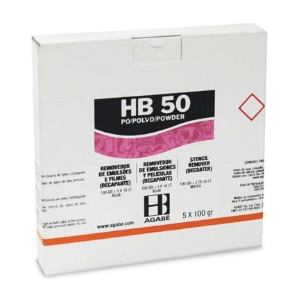 REMOVEDOR DE EMULSÃO HB-50 EM PÓ SACHÊ 1 Kilo  - AUGE SILK & SIGN