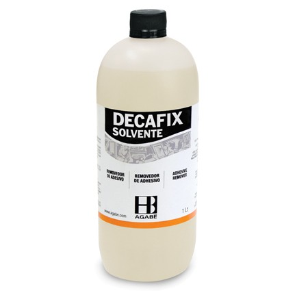 SOLVENTE DECAFIX  - AUGE SILK & SIGN