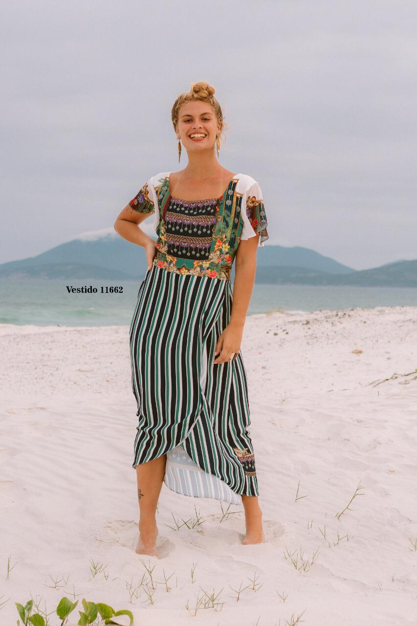Vestido Estampada Digitalizada Yumarimel