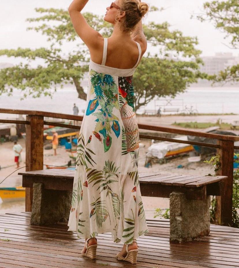 Vestido Estampado Yumarimel
