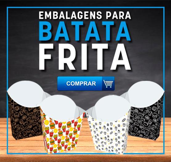 EMBALAGEM BATATA FRITA PADRÃO - DESTAQUE