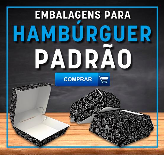 EMBALAGEM PARA HAMBURGUER PADRÃO - DESTAQUE