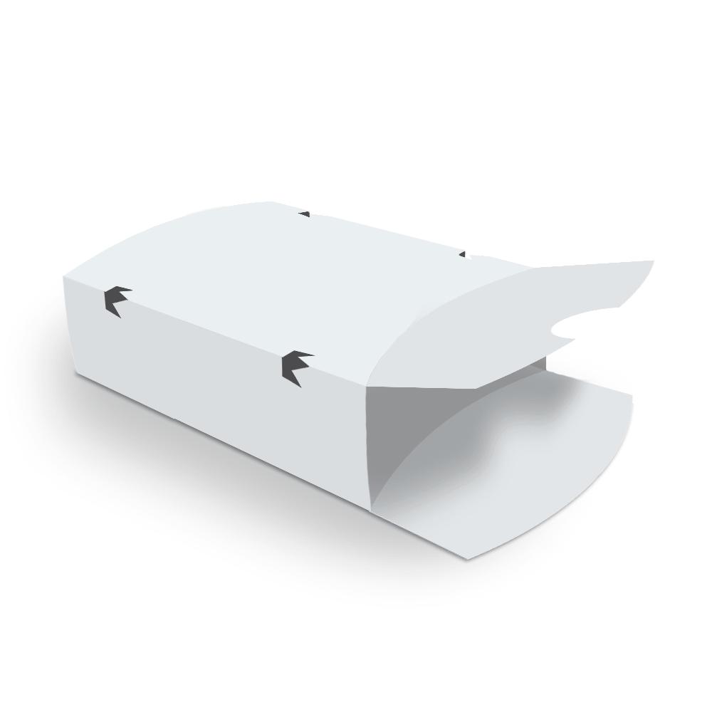 Embalagem para Batata Frita Delivery - WHITE - 100 unidades  - 24 PRINT EMBALAGENS