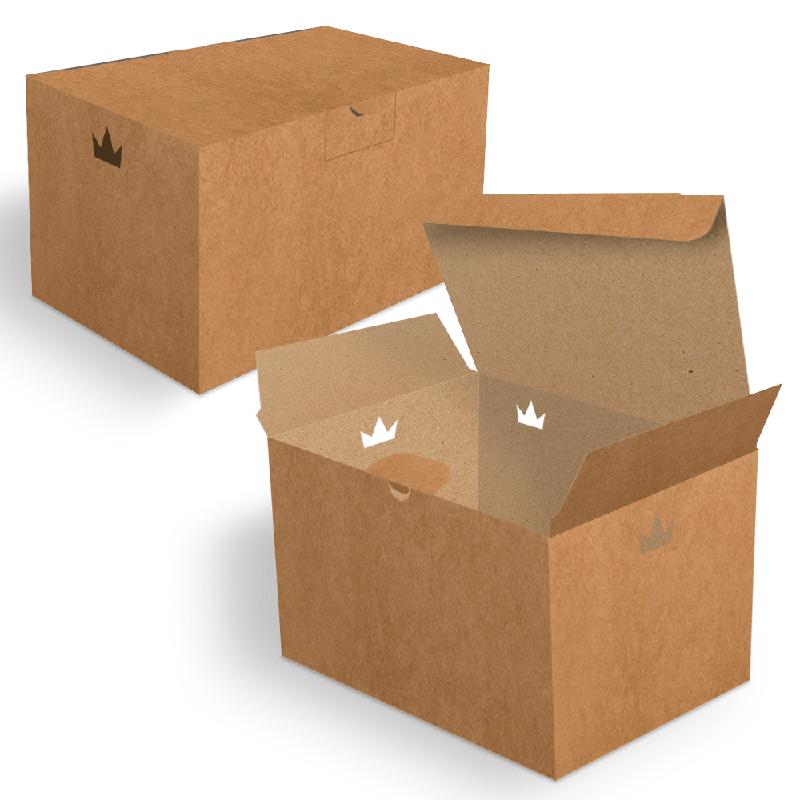 Embalagem para Batata Frita Porção Delivery - KRAFT - 100 unidades  - 24 PRINT EMBALAGENS