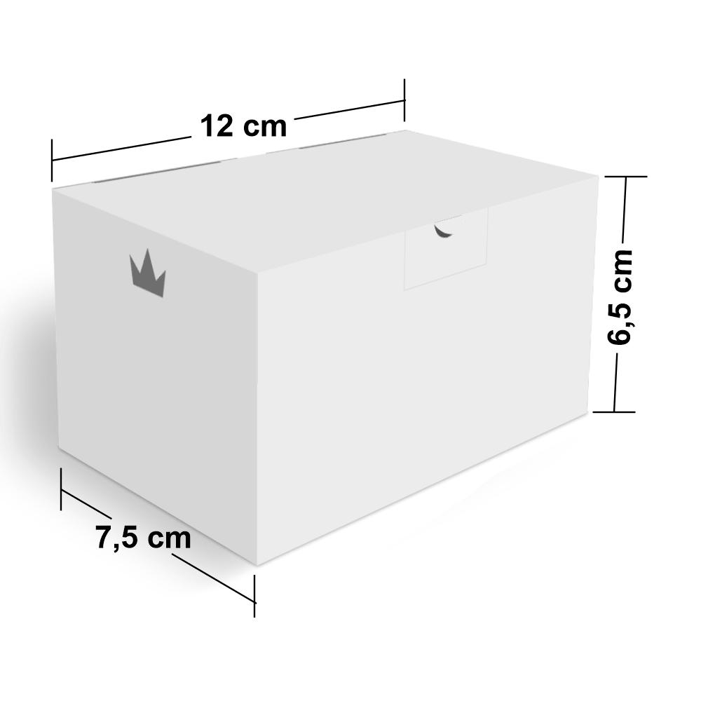 Embalagem para Batata Frita Porção Delivery - WHITE - 100 unidades  - 24 PRINT EMBALAGENS
