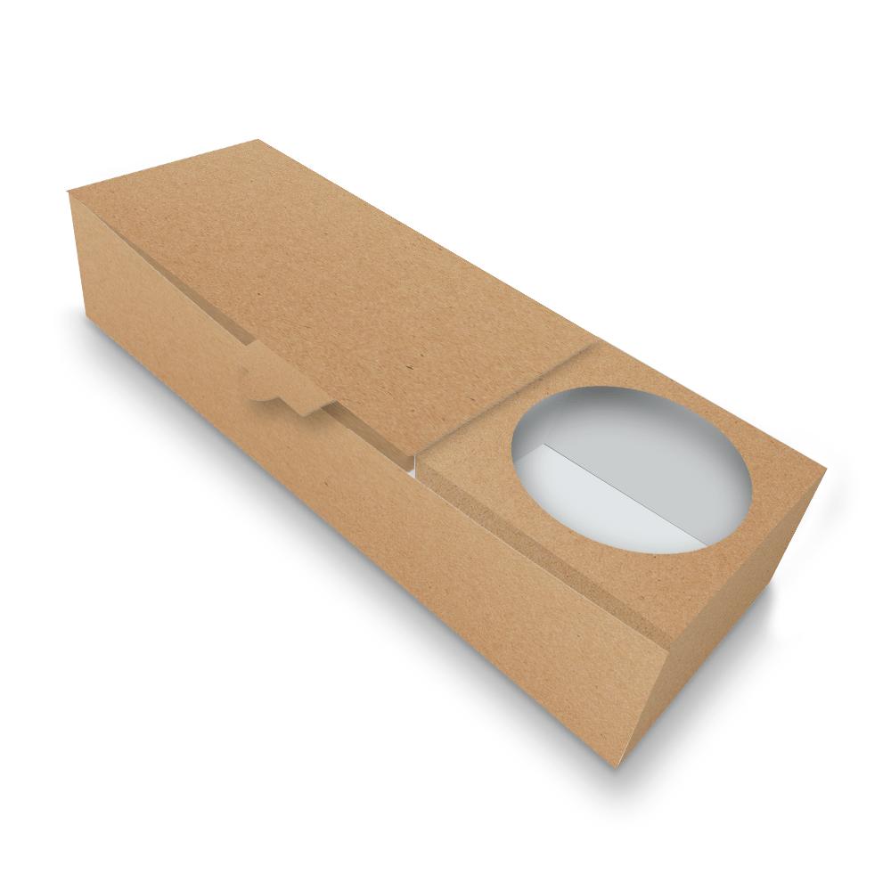 Embalagem para Churros Espanhol Delivery - KRAFT - 100 unidades  - 24 PRINT EMBALAGENS