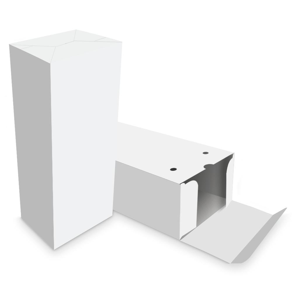 Embalagem para Churros Externo Gourmet 2 unidades - WHITE - 100 unidades  - 24 PRINT EMBALAGENS
